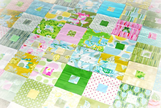 FQ quilt along in Nicey Jane