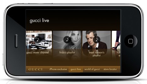 Gucci_iphone_app