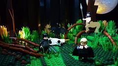 An unspeakable crime. (Legoagogo) Tags: lego harry potter harrypotter firenze centaur afol brickforge