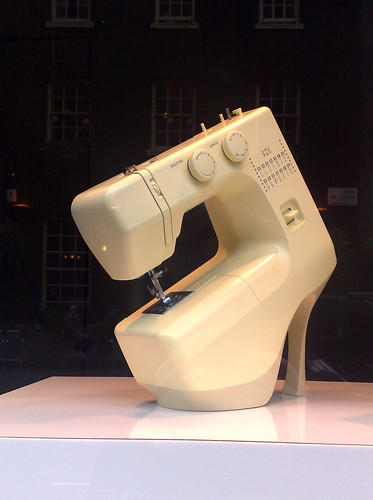 Sewing machine shoe at Selfridges