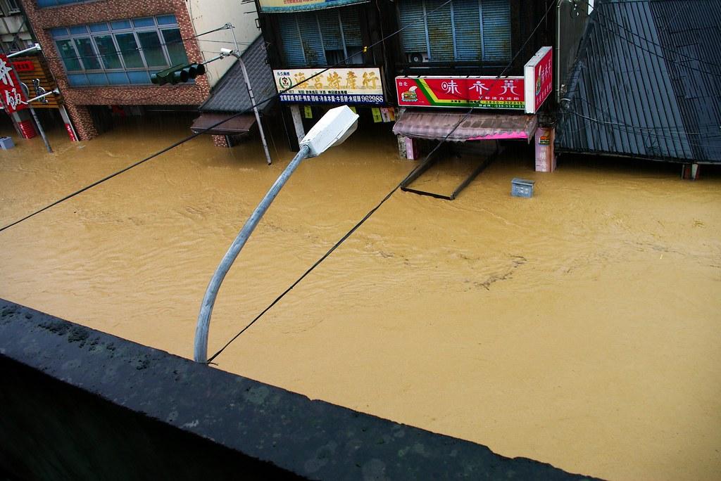 無語的...蘇澳雨災