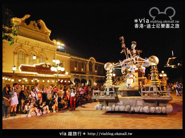 【香港旅遊】跟著via玩香港(2)~迪士尼萬聖節夜間遊行超精彩!11