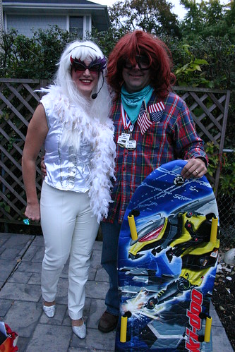 Lady Gaga and Shaun White