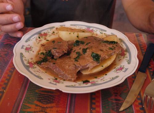 Argentina: Bife de ternera