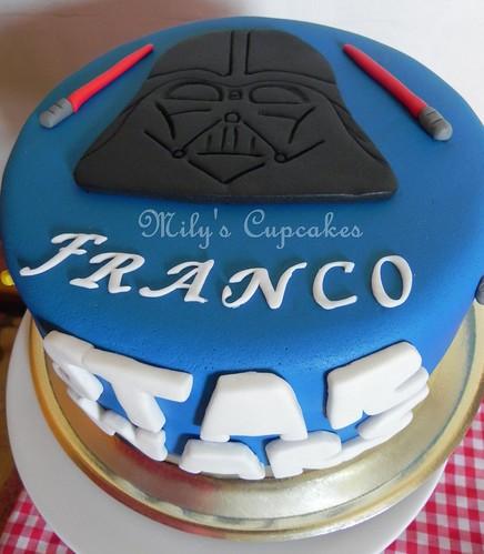 Cake Star Wars para Franco!!