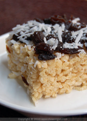 Brown Rice Krispy Treats From Simple Treats
