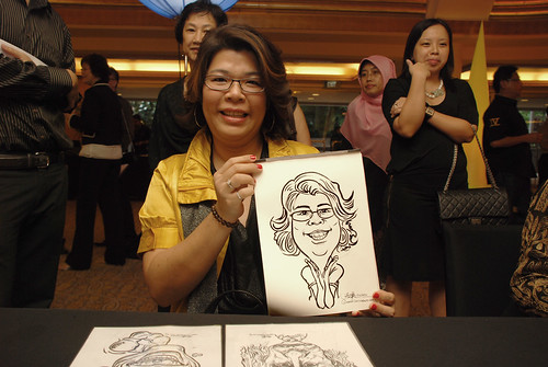 Caricature live sketching for Great Eastern D&D - 2