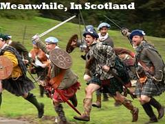 funny (Captain_Cogle) Tags: kilt highlander scottish sword axe reenactment 18thcentury reenactor culloden drik reenacting lochaber musket 1745 jacobite flintlock prestonpans