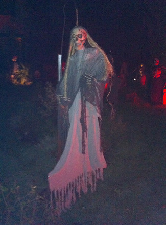 Hightstown Halloween Display 3