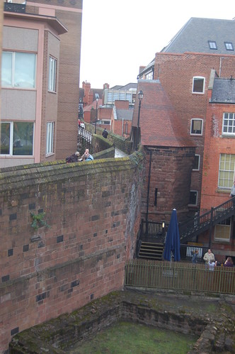 Chester city walls Oct 10 7