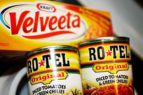 ro*tel and velveeta