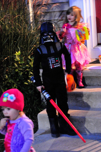 Darth and the Fairy Princesses