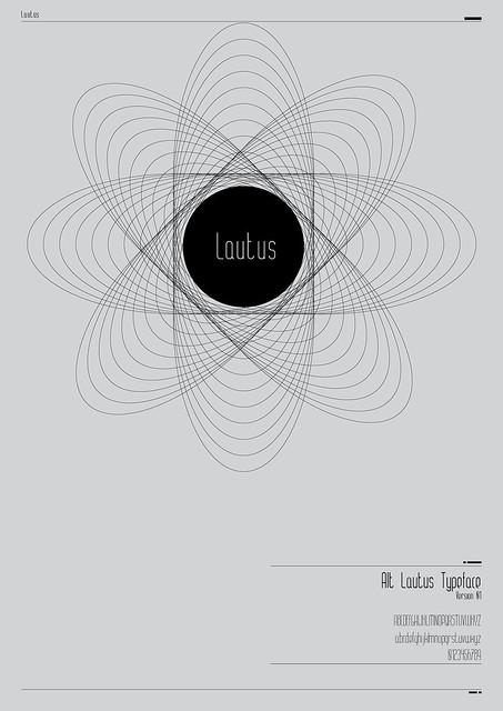 Alt Lautus Typeface Promo