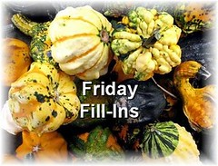 Friday Fill Ins