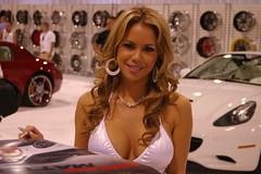 Elle Navarro (spdpat) Tags: vegas lasvegas sema semashow carshowwomen