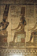 Templo de Hathor en Deir el Medina , Luxor : Sala derecha dedicada a Amon Ra Osiris . (Soloegipto) Tags: egypt horus egipto nut luxor isis osiris anubis deirelmedina neftis templodehathor hathortemple nephtis ptolomeovi amonreosiris