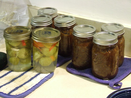 Green Tomatoes - Pickles and chutney