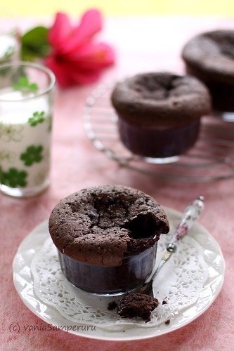 Warm Brownie Cups