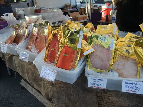 SFO Day 2: Smoked Fish from the Ferry Plaza Farmers Market