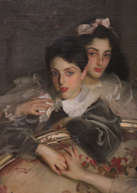 Part of Mrs Carl Meyer and her Children, John Singer Sargent, 1896
