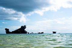 Wrecks (lakesly) Tags: sea water outdoors island australia shipwreck queensland moreton imagespace:hasdirection=false