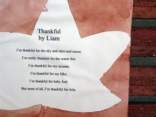 Thankful by Liam