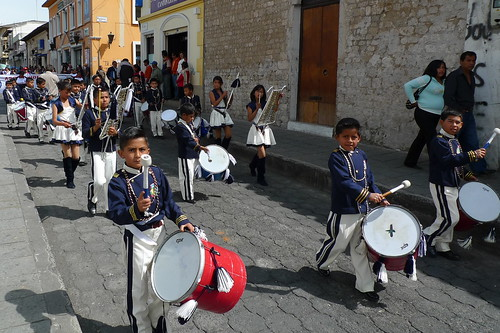 Independence Day Parade - Latacunga, Ecuador