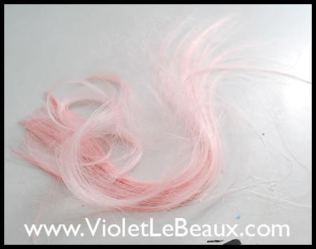 Pink  Clip in Hair