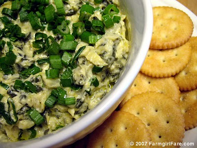Hot Swiss Chard Artichoke Dip