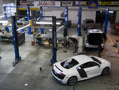 NWAS does Mobile Detail in Portland Oregon at Matrix Integrated German Tuning Shop 076.jpg (NorthWest Auto Salon) Tags: auto seattle detail window sports wet water glass up car leather wheel portland vent bay washington automobile paint hand interior air bra touch over vinyl engine convertible tint automotive spot brush best spray steam dent cleaning clear exotic wash repair bmw motorcycle wa restoration wax touchup removal rim audi kirkland concours ozone protection luxury m6 bellevue less 3m airbrush issaquah polishing sanding r8 detailing correction overspray tinting sealant paintless detailer clearbra ventureshield detailautomotivecarsseattlewashingtonwaautosaloncleansm