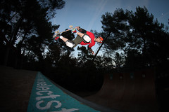 Bruno Rouland - Backside Air (Chris Corso) Tags: ramp skateboarding vert brunorouland backsideair canon7d samyang8mm