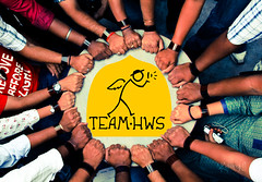 Teamwork (cishore) Tags: india circle logo team hands friendship united group band together concept hyderabad cishore kishore reel teamwork nagarigari kishorencom teamhws