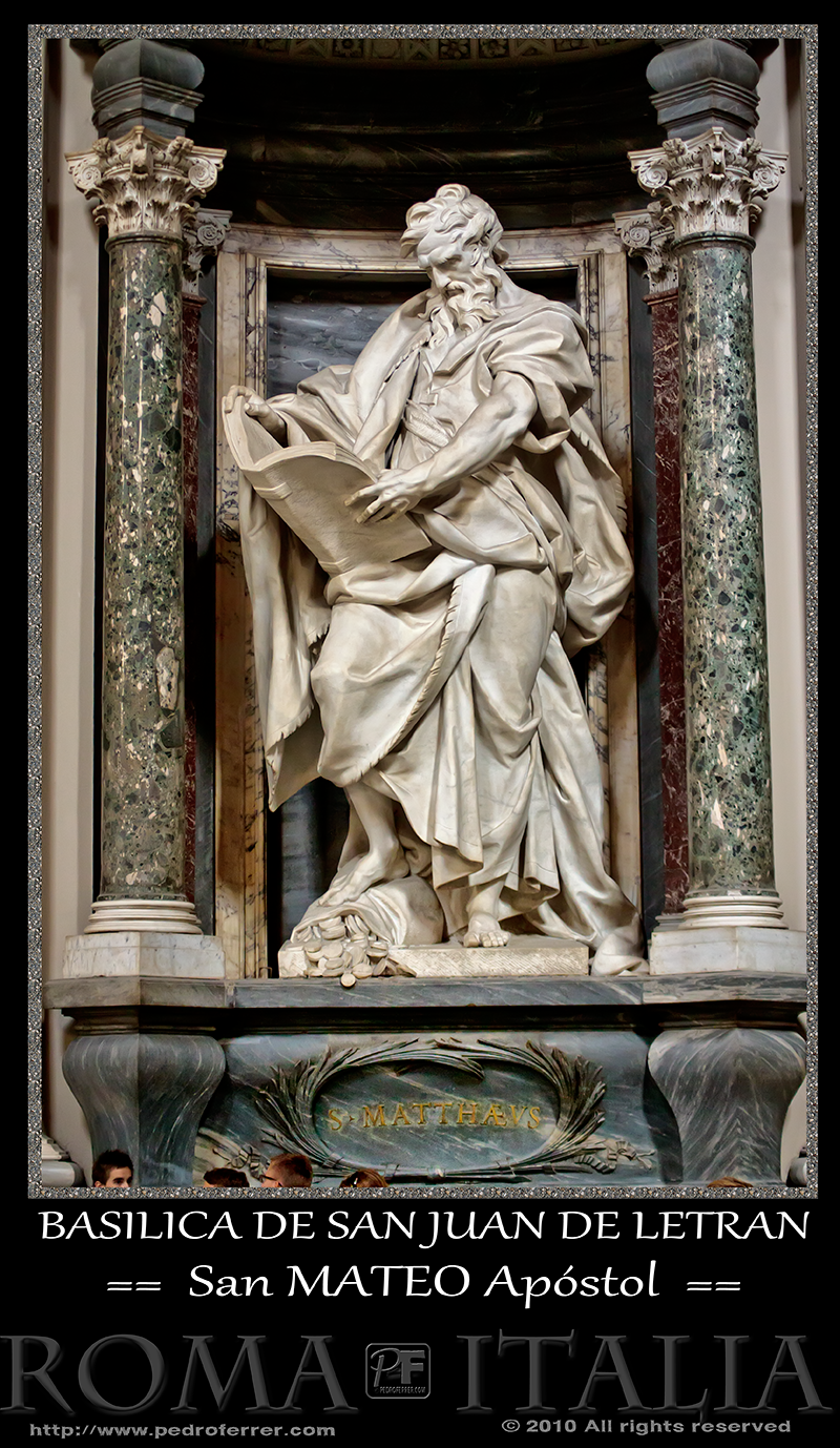 Roma - Basílica de San Juan de Letrán - San Mateo Apóstol