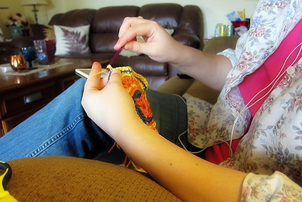 Gratitude, Day 14:  Crochet