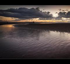 After sun ripples and water. Explored (Ianmoran1970) Tags: sunset orange man colour beach water evening glow boots explore ripples muddyboots explored ianmoran ianmoran1970