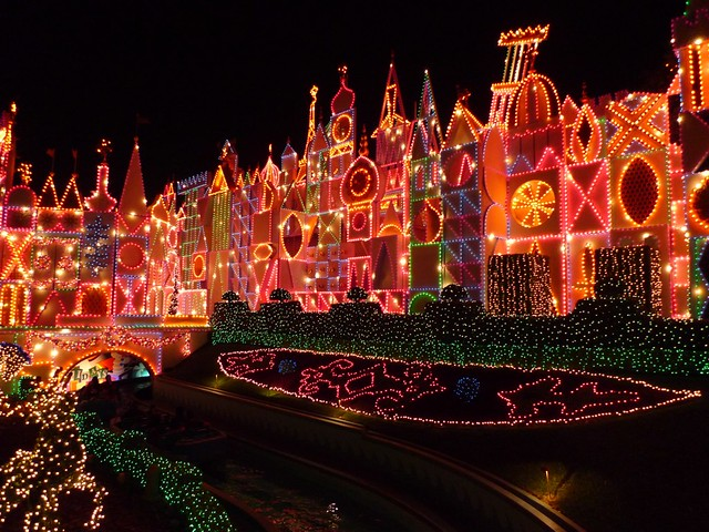 It's a small world lights, very nice