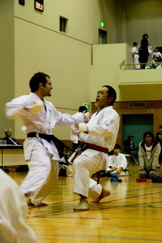 Oskar Karate -  (directo a la barbilla)