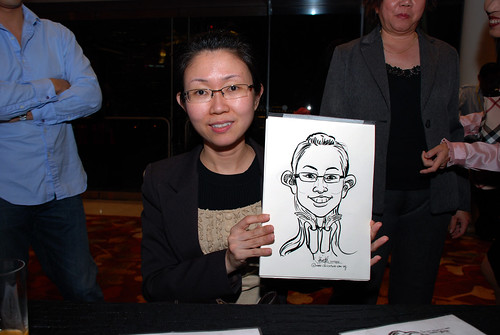 caricature live sketching for 2010 Asia Pacific Tax Symposium and Transfer Pricing Forum (Ernst & Young) - 18