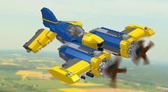"North American XP-74 ""Night Adder"" (3!) Tags: lego skyfi vicviper dieselpulp"