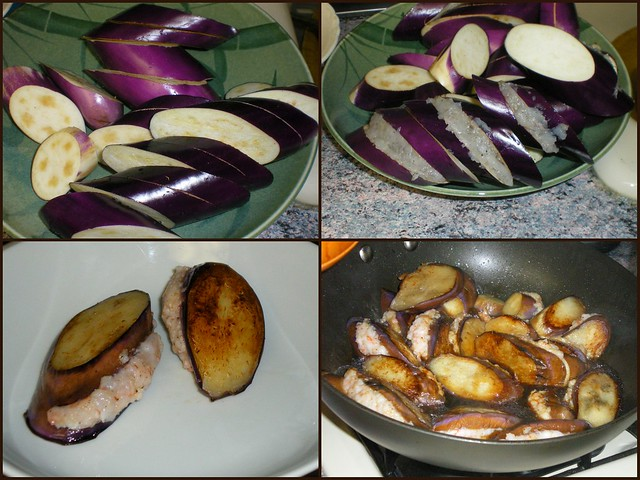 Shrimp-Stuffed Eggplant