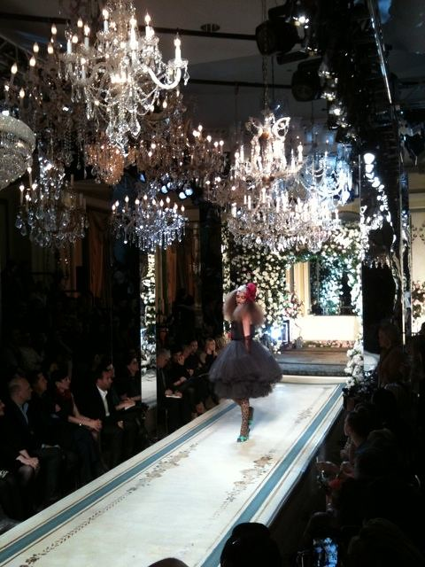05 First look of the Lanvin and H&M fashion show