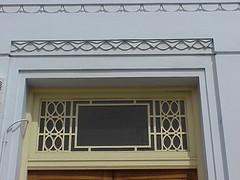 Window, Gladstone Chambers, Napier