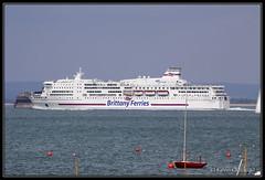 Pont Aven (leightonian) Tags: uk ferry island boat ship unitedkingdom isleofwight solent gb isle roro wight seaview iow carferry