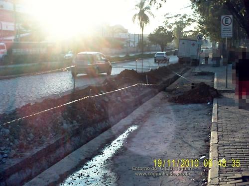 Entorno do C.E.U. Jaguare - obras (19/11/2010)