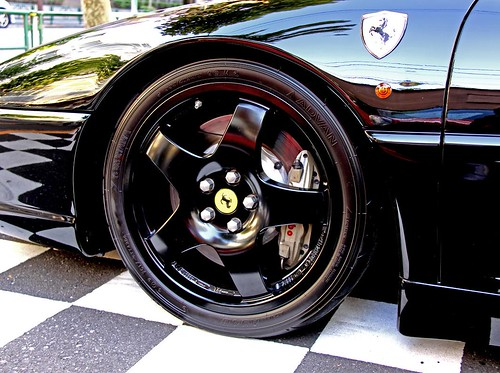 """... black Ferrari F355 Challenge is the very definition of """"sex on wheels"""