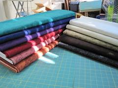 Rainshadow tonal fabrics (white lotus quilting) Tags: fabrics tonal rainshadow konabay