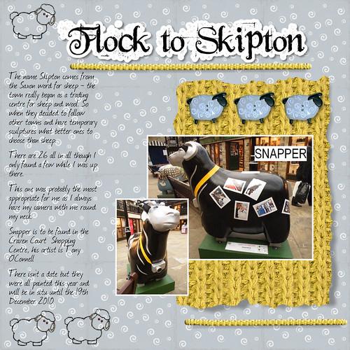 Flock to Skipton