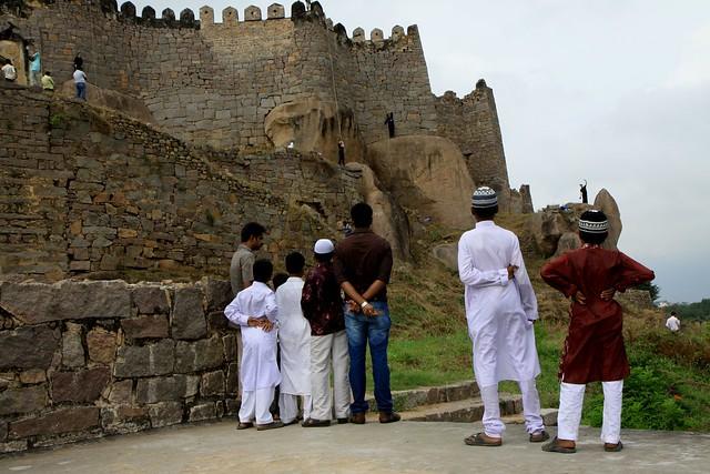Bandaloop at Golconda Fort, Hyderabad
