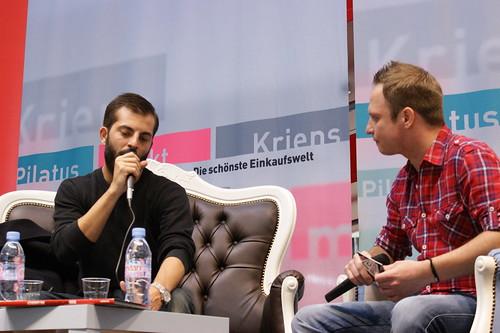 Live-Talk mit BLIGG im Pilatusmarkt in Kriens