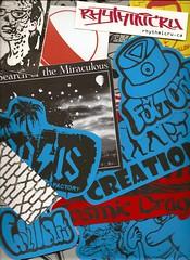 2011 Toronto International Adhesive Arts Expo (andres musta) Tags: toronto pasteup art festival sticker stickerart expo wheatpaste stickers arts international adhesive manifesto 2011